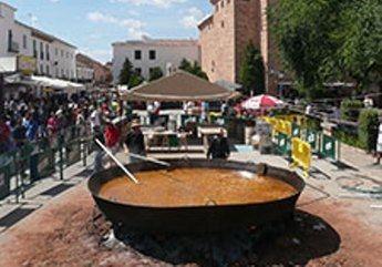 Imagen de archivo de una fiesta del pimiento en Villanueva de los Infantes.
