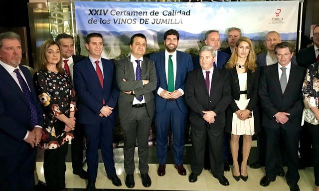 Entregados en Albacete los premios del XXIV Certamen de Calidad de los Vinos Jumilla
