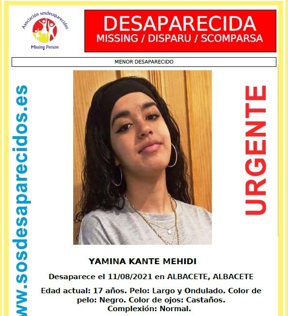 La Policía Nacional localiza en Albacete a una menor desaparecida desde el pasado día 11 de agosto