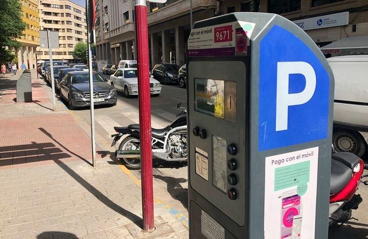 Nuevo horario de verano de la Zona Azul de Albacete, con pago solo los días laborales por la mañana