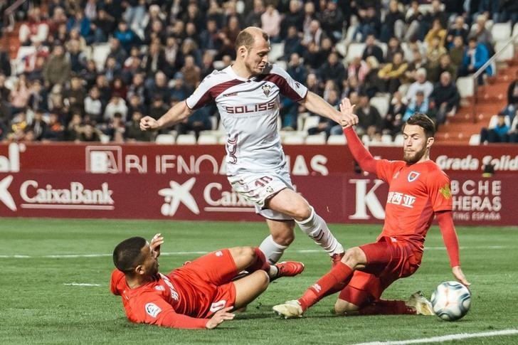 El Albacete Balompié remonta ante el Numancia y gana tres meses después (2-1)