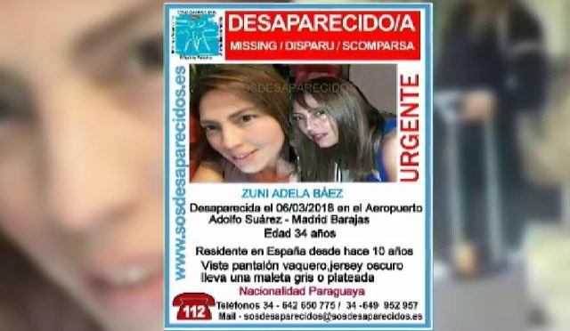 Hallados restos biológicos de la paraguaya de 34 años desaparecida de Madrid en el coche de su pareja, que vive en Cuenca